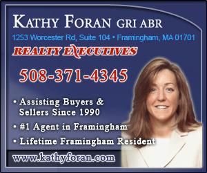 Framingham real estate agent Kathy Foran